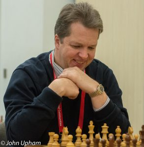 GM Nigel David Short, courtesy of John Upham Photography