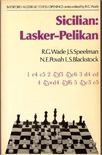 Sicilian Lasker-Pelikan, 1978, Batsford, Wade, Speelman, Povah and Blackstock