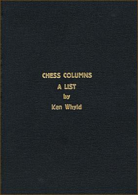 Chess Columns : A List