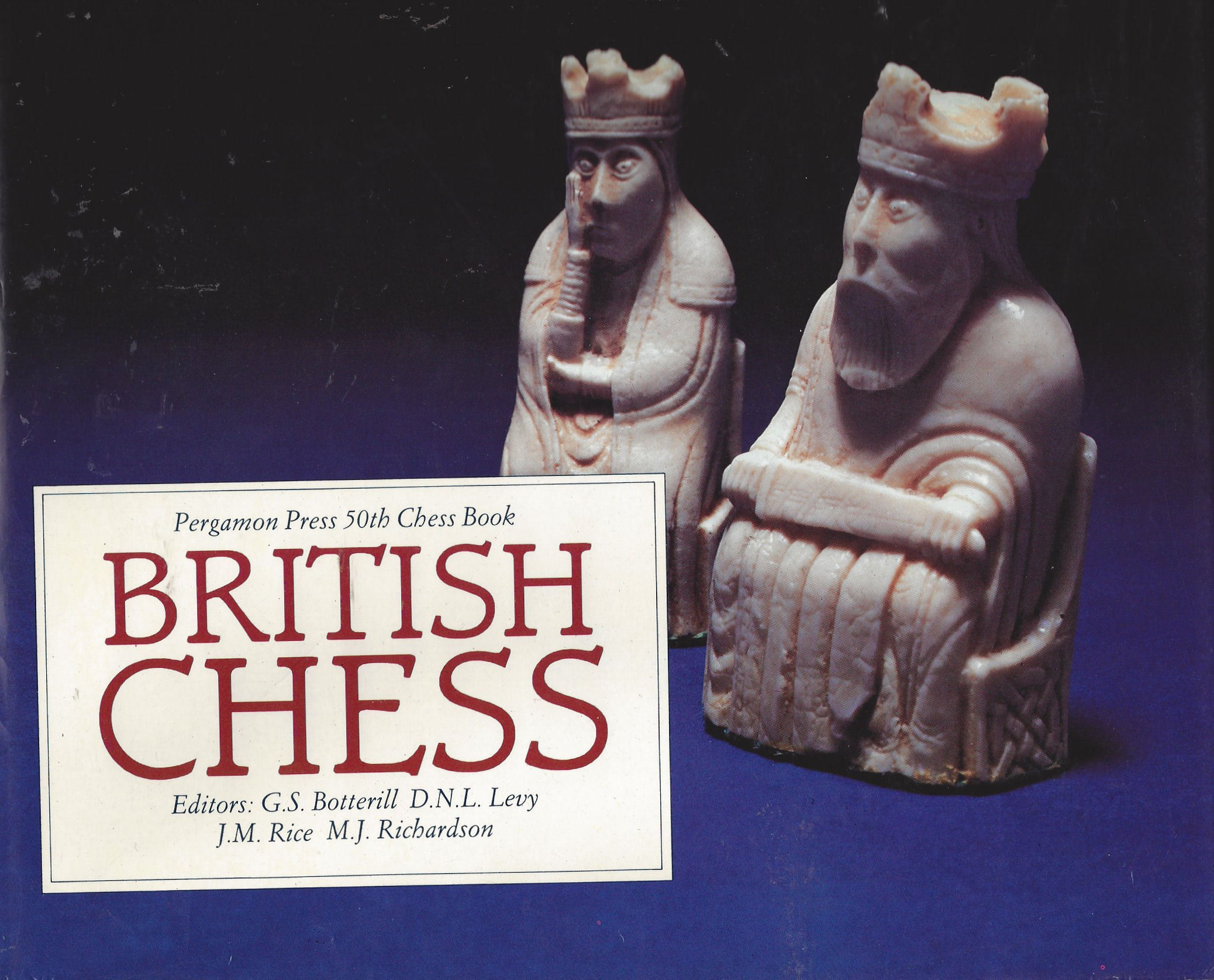 British Chess, Pergamon Press, 1983. Editors : GS Botterill, DNL Levy, JM Rice and MJ Richardson, ISBN 0 08 024134 4