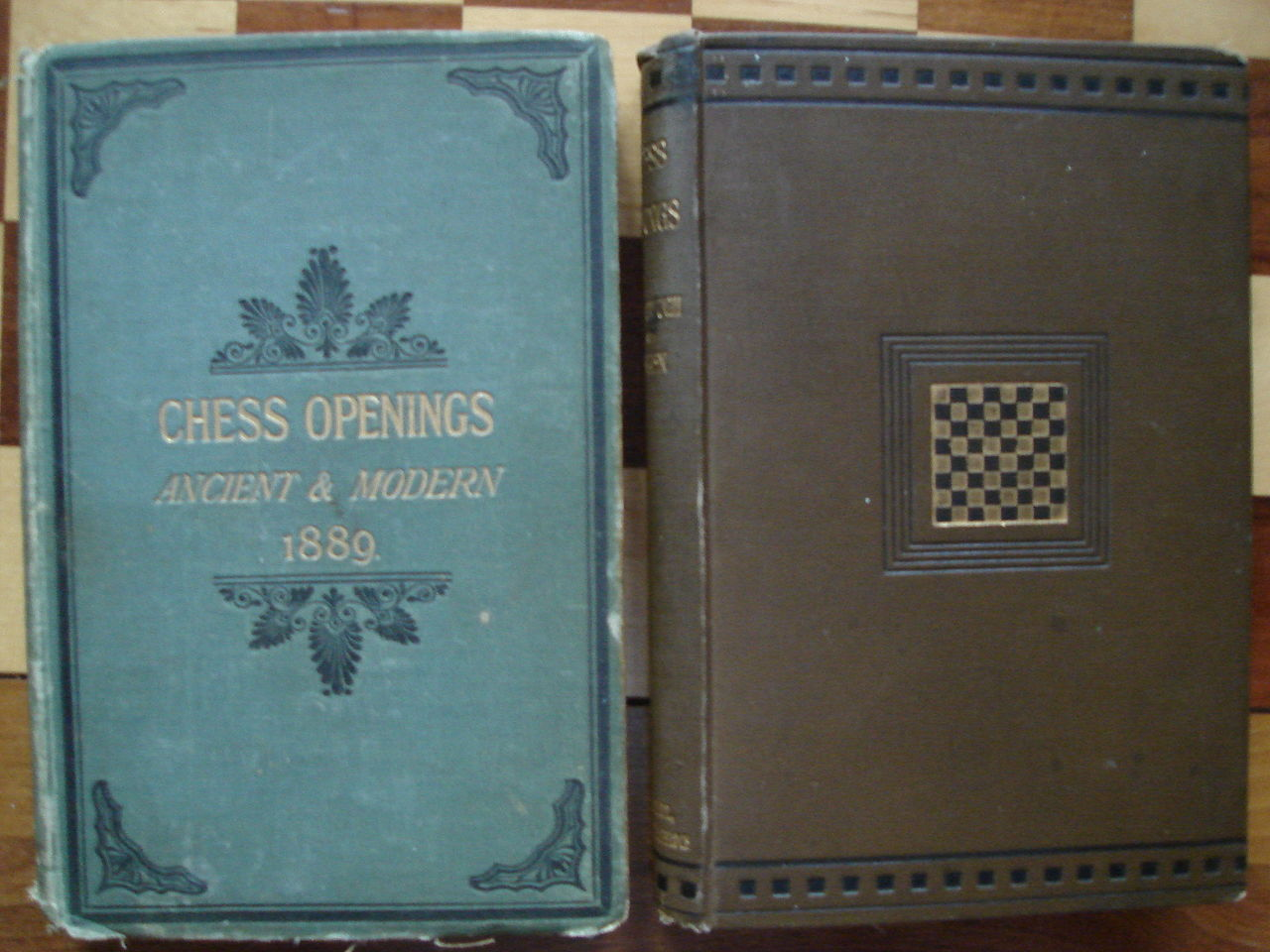 Chess Openings Ancient and Modern 1889