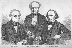 William Lewis, George Walker and Augustus Mongredien