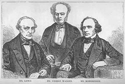 William Lewis, George Walker and Augustus Mongredien