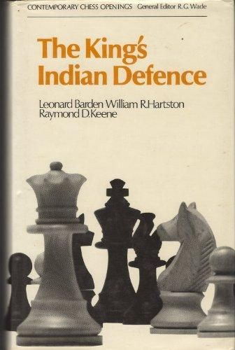 The King's Indian Defence, Barden, Keene and Hartston, BT Batsford, 1969.