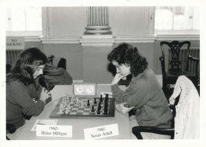 WFM Helen Milligan vs Susan Arkell