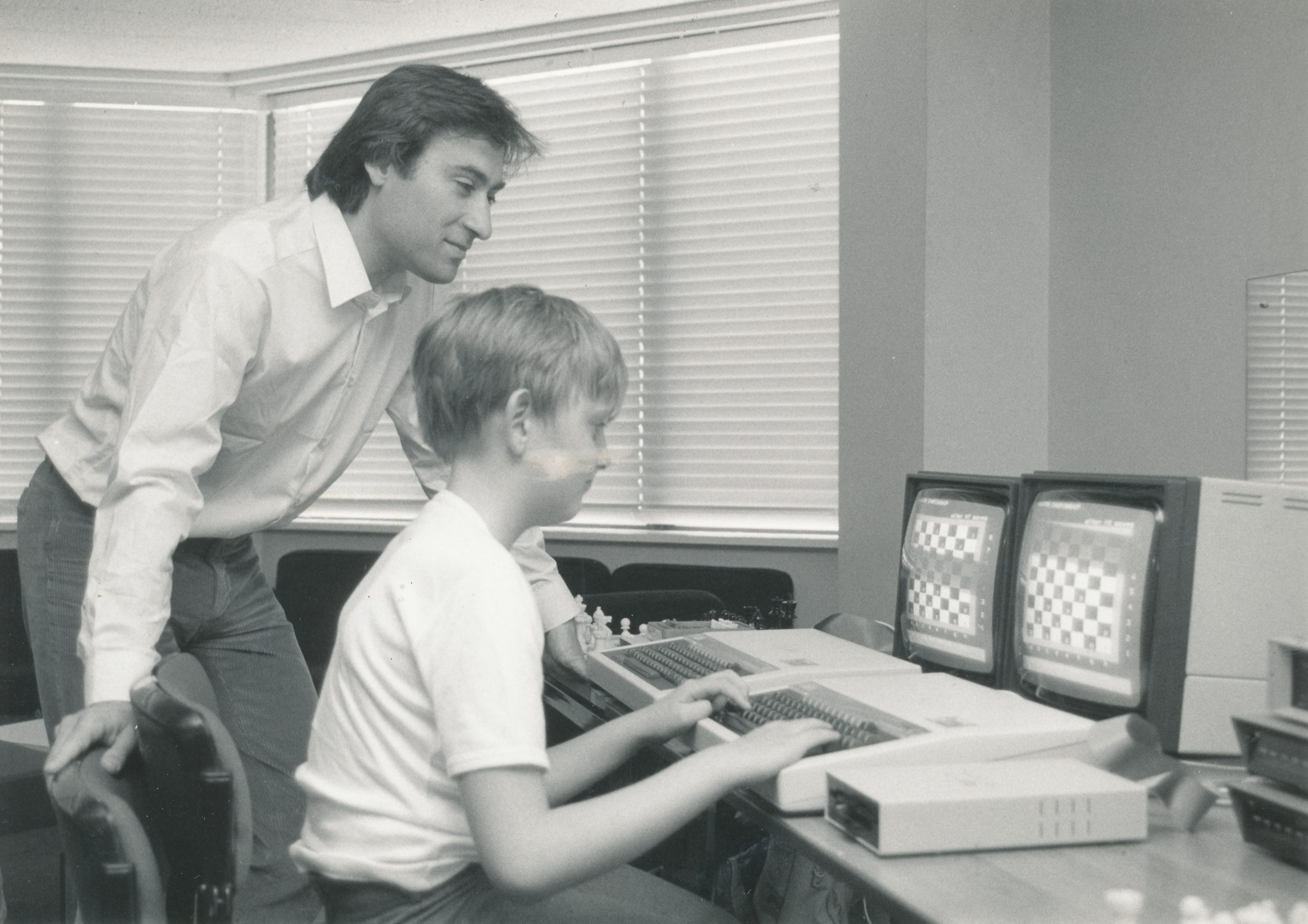 Bill had a keen interest in computer chess and technology