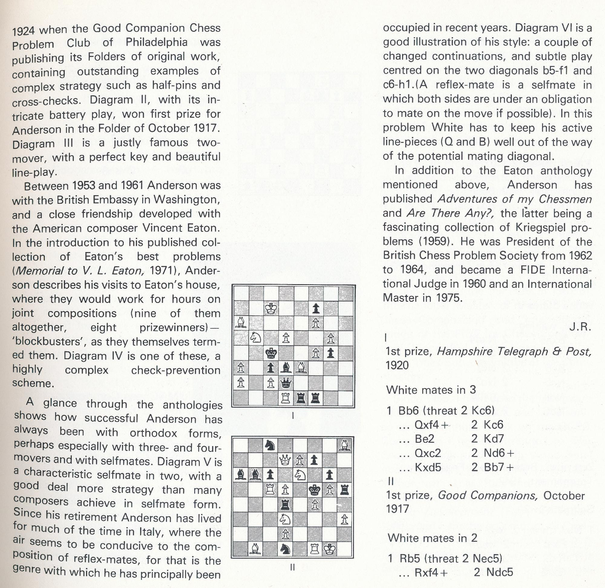British Chess, Pergamon Press, 1983. page 17