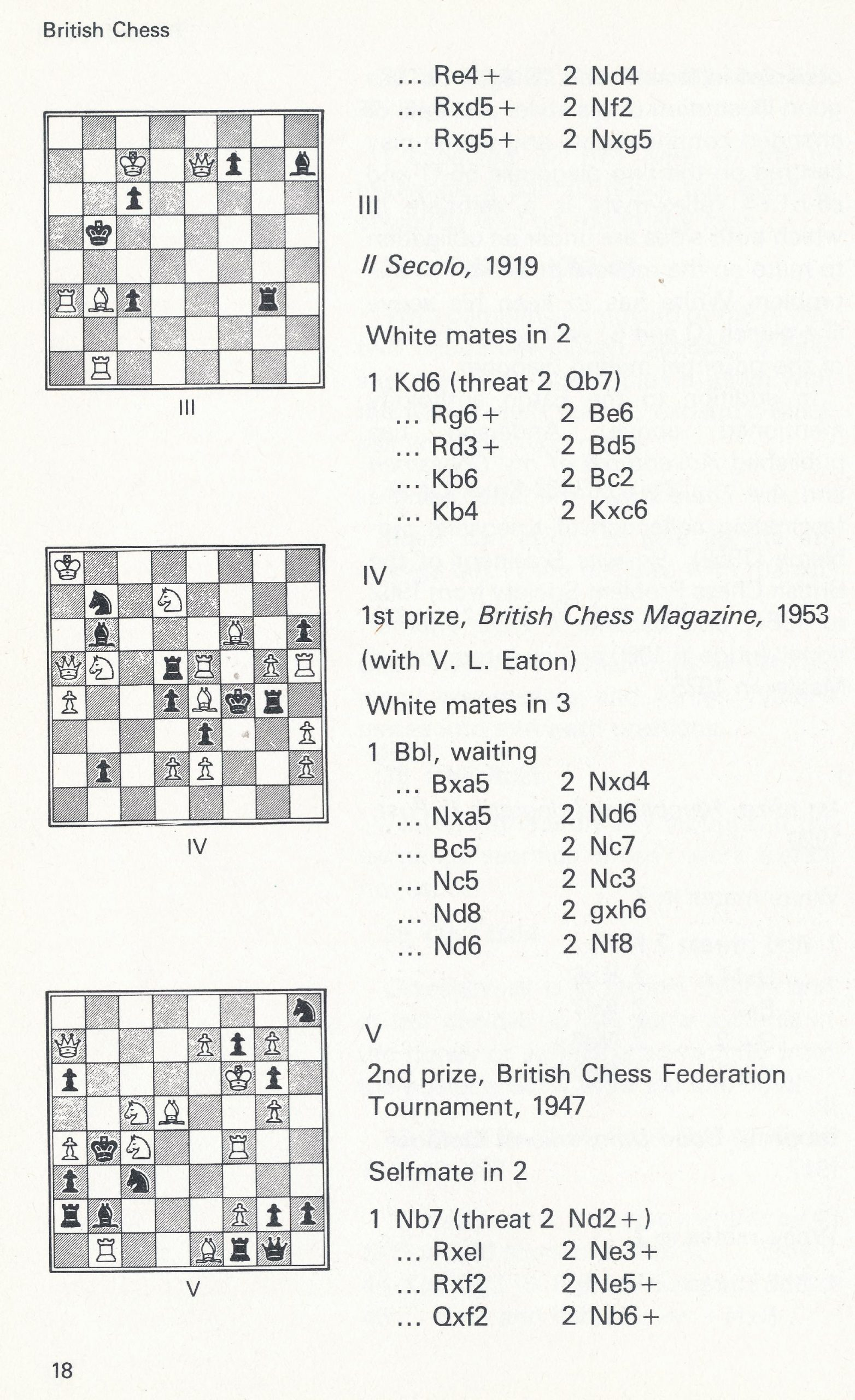 British Chess, Pergamon Press, 1983. page 18