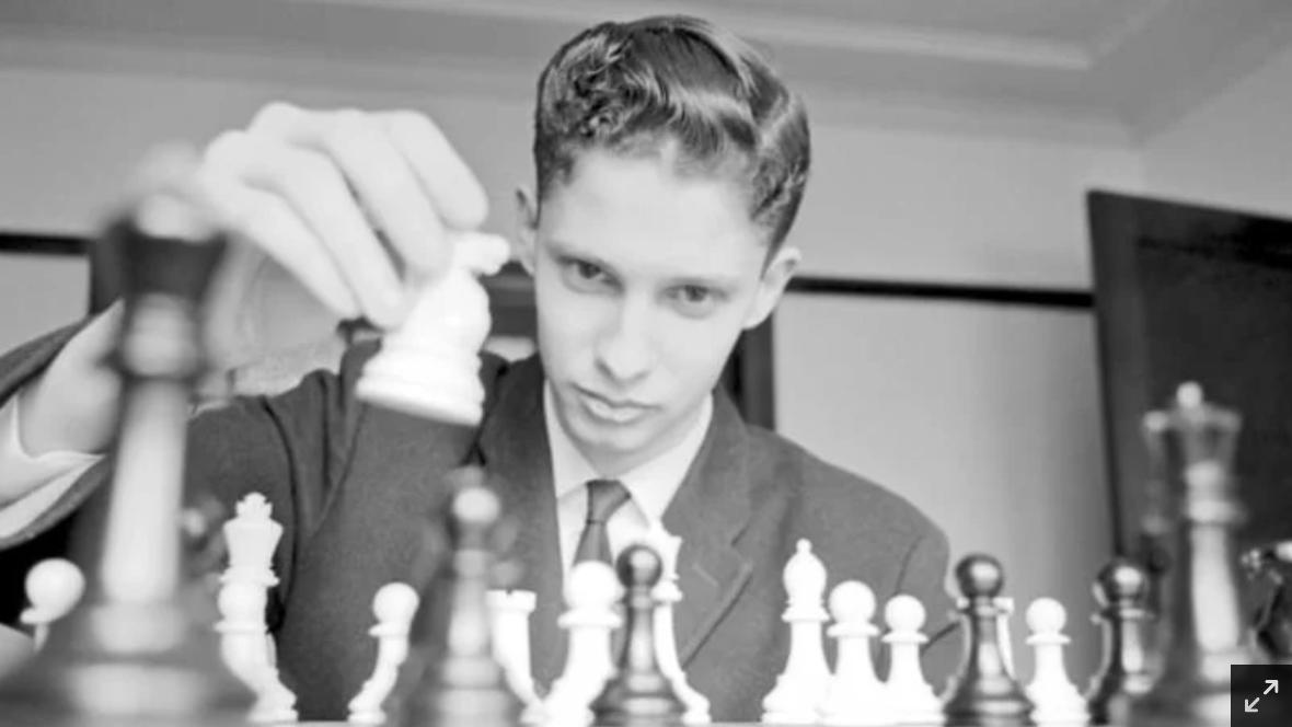 Knight moves: Max Fuller in 1964. He went on to become Australia's No.1 player and toured the world.CREDIT:STUART MACGLADRIE