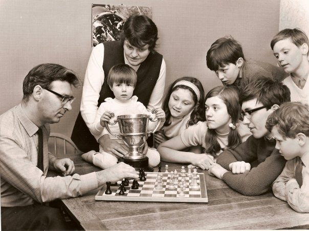 John and family following winning the 1972 Southport Open. See the BCM article below for a full caption