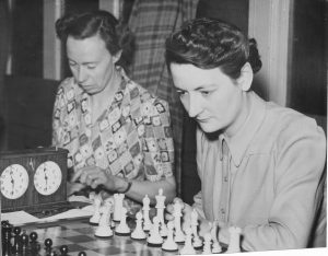 WIM Eileen Betsy Tranmer & WIM Rowena Mary Bruce