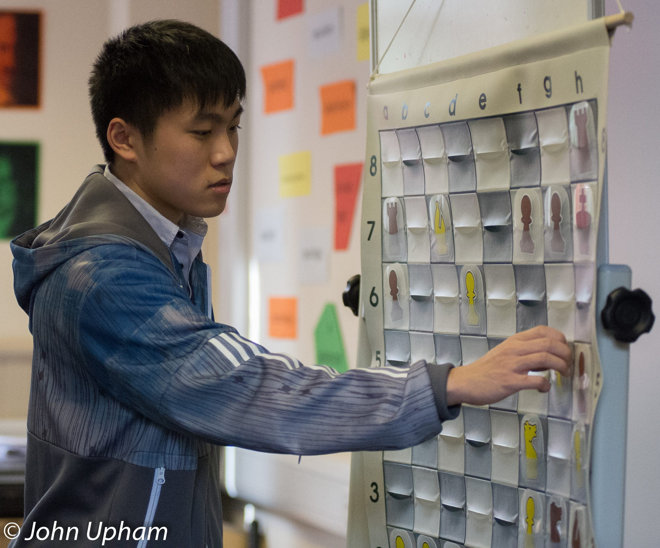 IM Yang-Fan Zhou at a Wellington College Training Event in 2014, courtesy of John Upham Photography