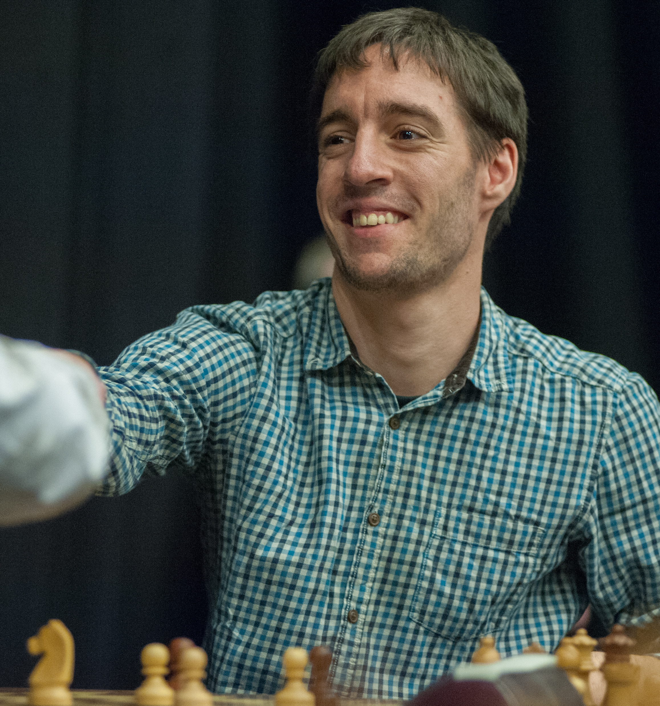 IM Tom Rendle at the King's Place Rapidplay, 2013, Courtesy of John Upham Photography