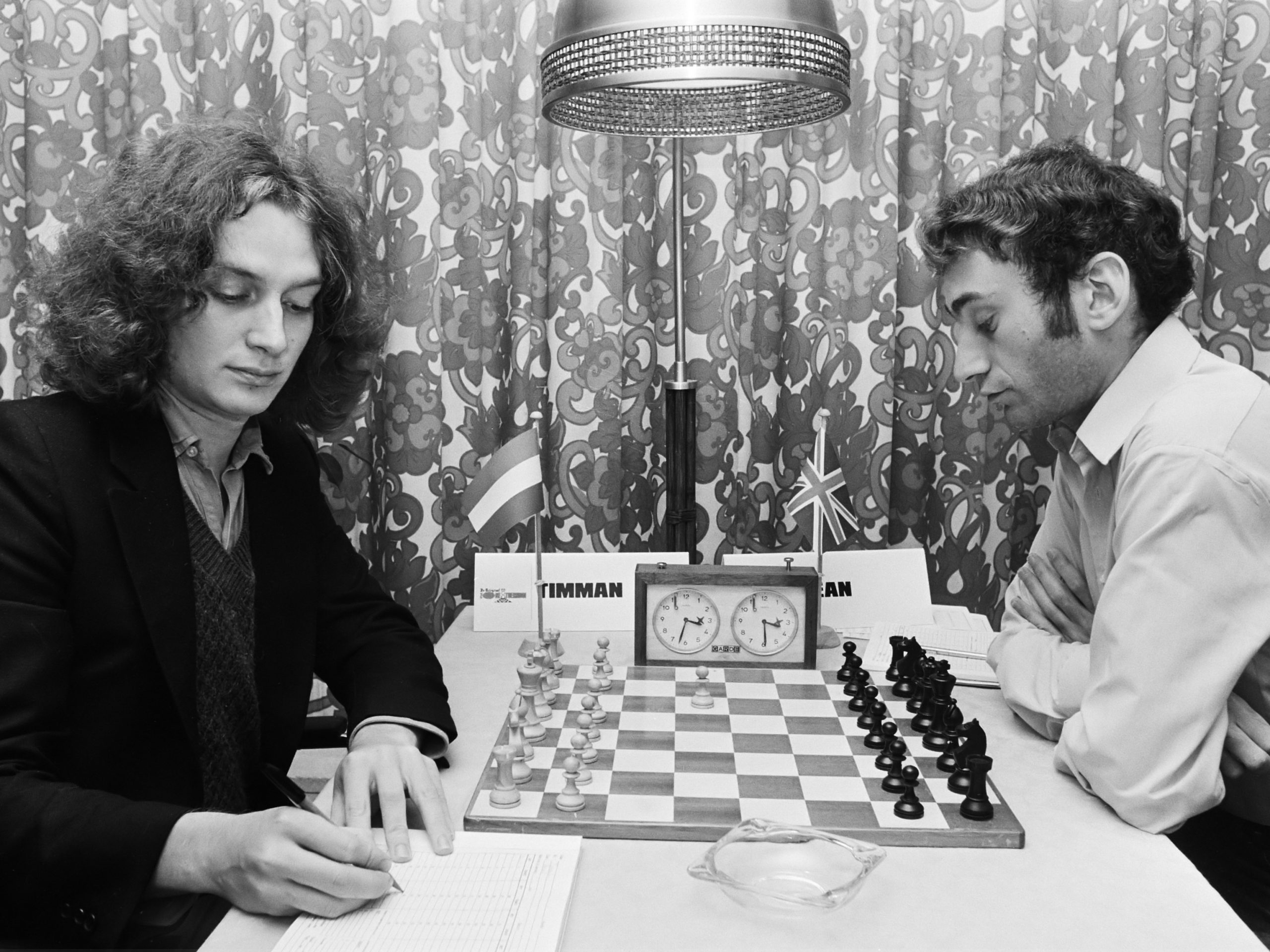 Jan Timman plays Michael Stean at the 1978 Amsterdam FIDE Zonal. The Dutch GM won in 39 moves.