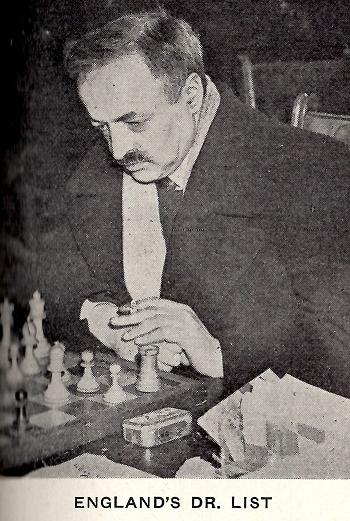Dr. Paul M. List. Source : https://www.kingpinchess.net/wp-content/uploads/2016/03/They-provided-their-own-heat1.jpg