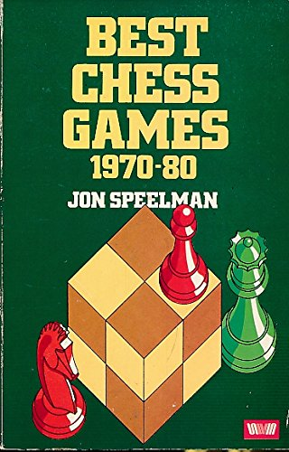 Speelman, Jon (1982). Best Chess Games, 1970-80. Allen & Unwin (London, England; Boston, Massachusetts). 328 pages. ISBN 978-0-04-794015-6.