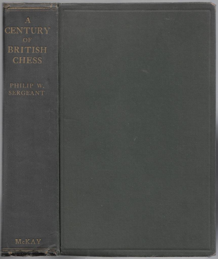 A Century of British Chess, London, 1934