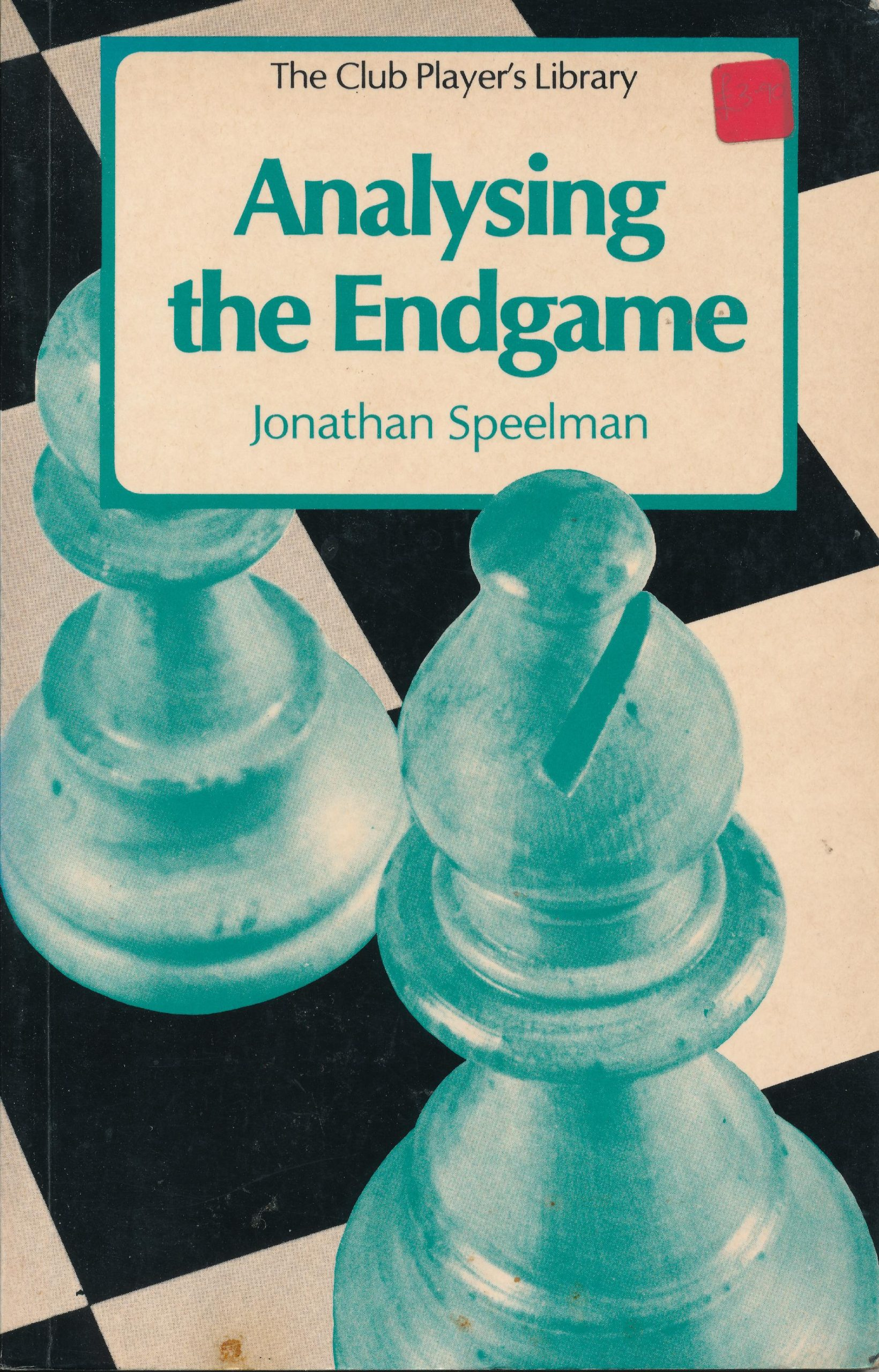Speelman, Jonathan (1981). Analysing the Endgame. Batsford (London, England). 142 pages. ISBN 978-0-7134-1909-2.