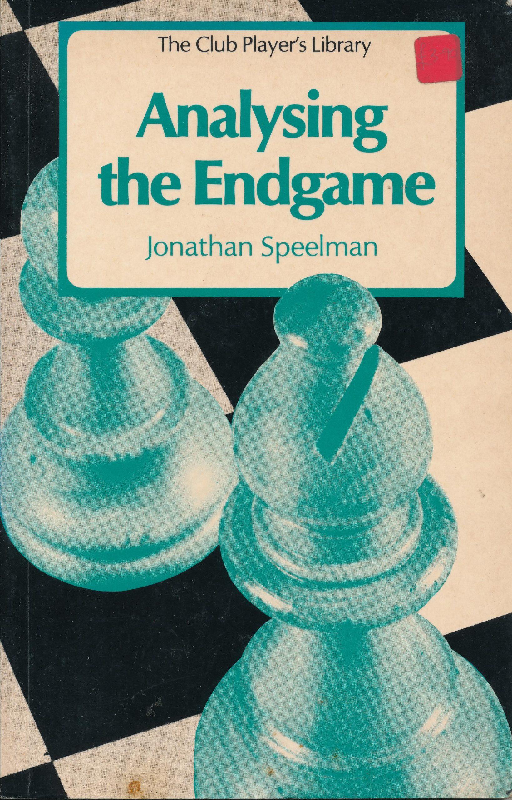 Speelman, Jonathan (1981). Analysing the Endgame. Batsford (London, England). 142 pages. ISBN 978-0-7134-1909-2.