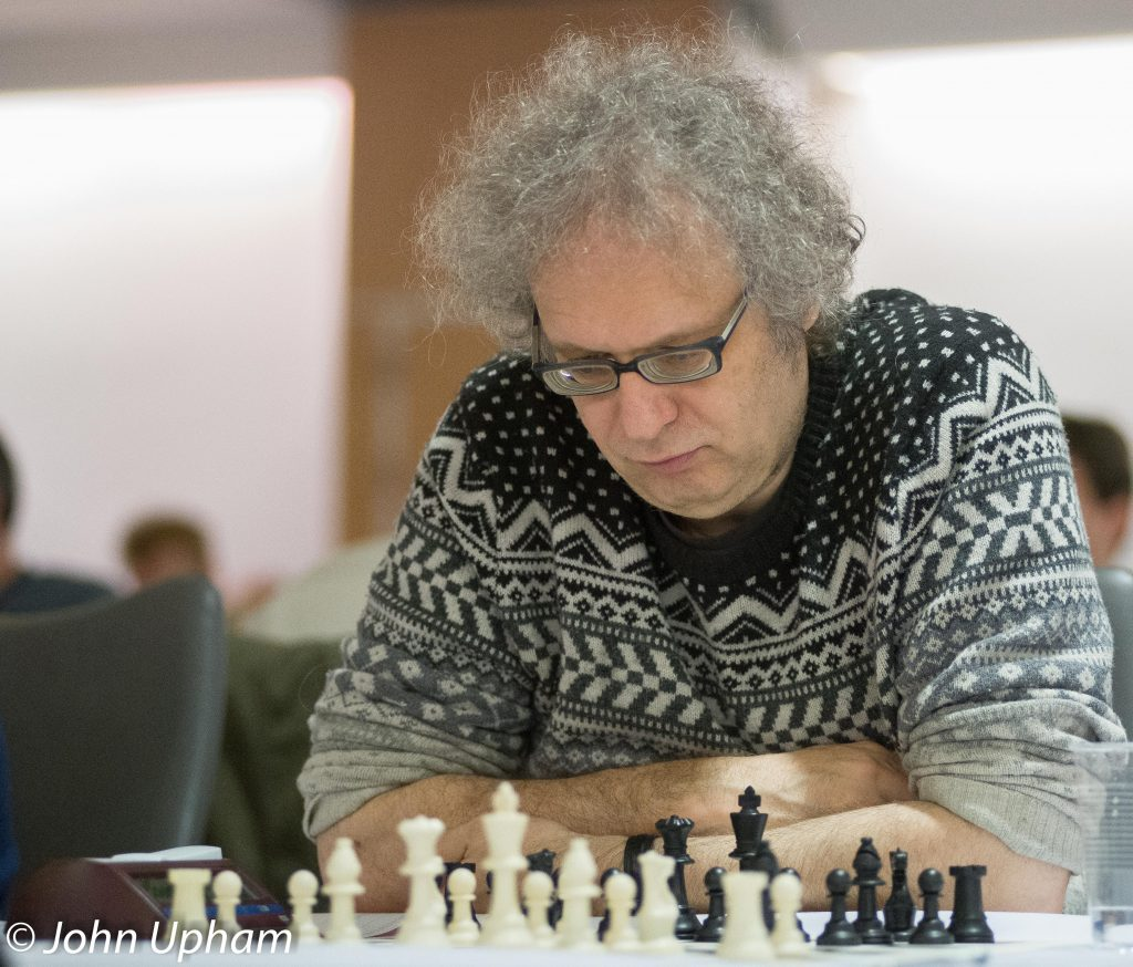 GM Jonathan Speelman at 4NCL in 2014, courtesy of John Upham Photography