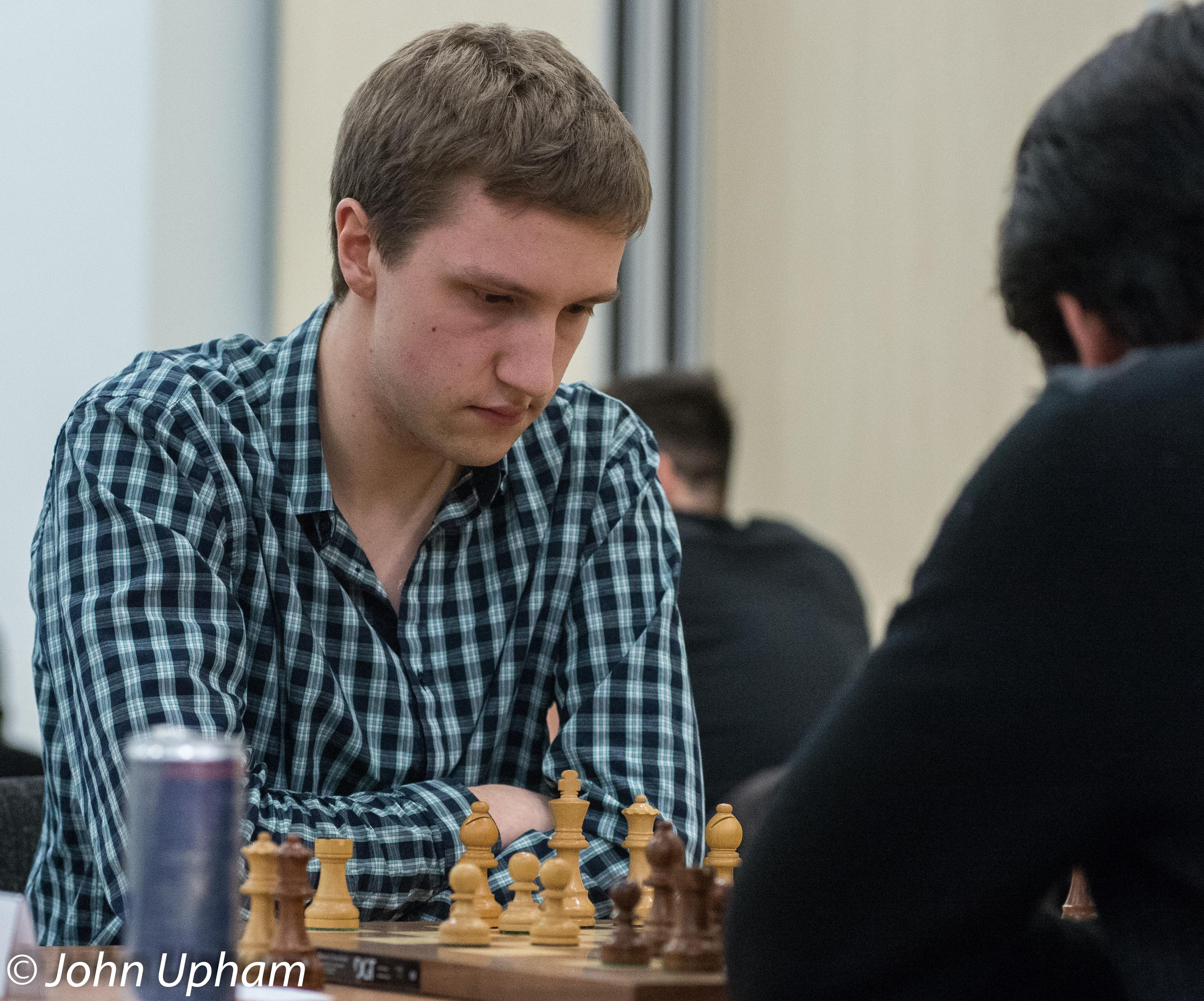 IM James Adair playing GM Hikaru Nakamura at the London Chess Classic 2014