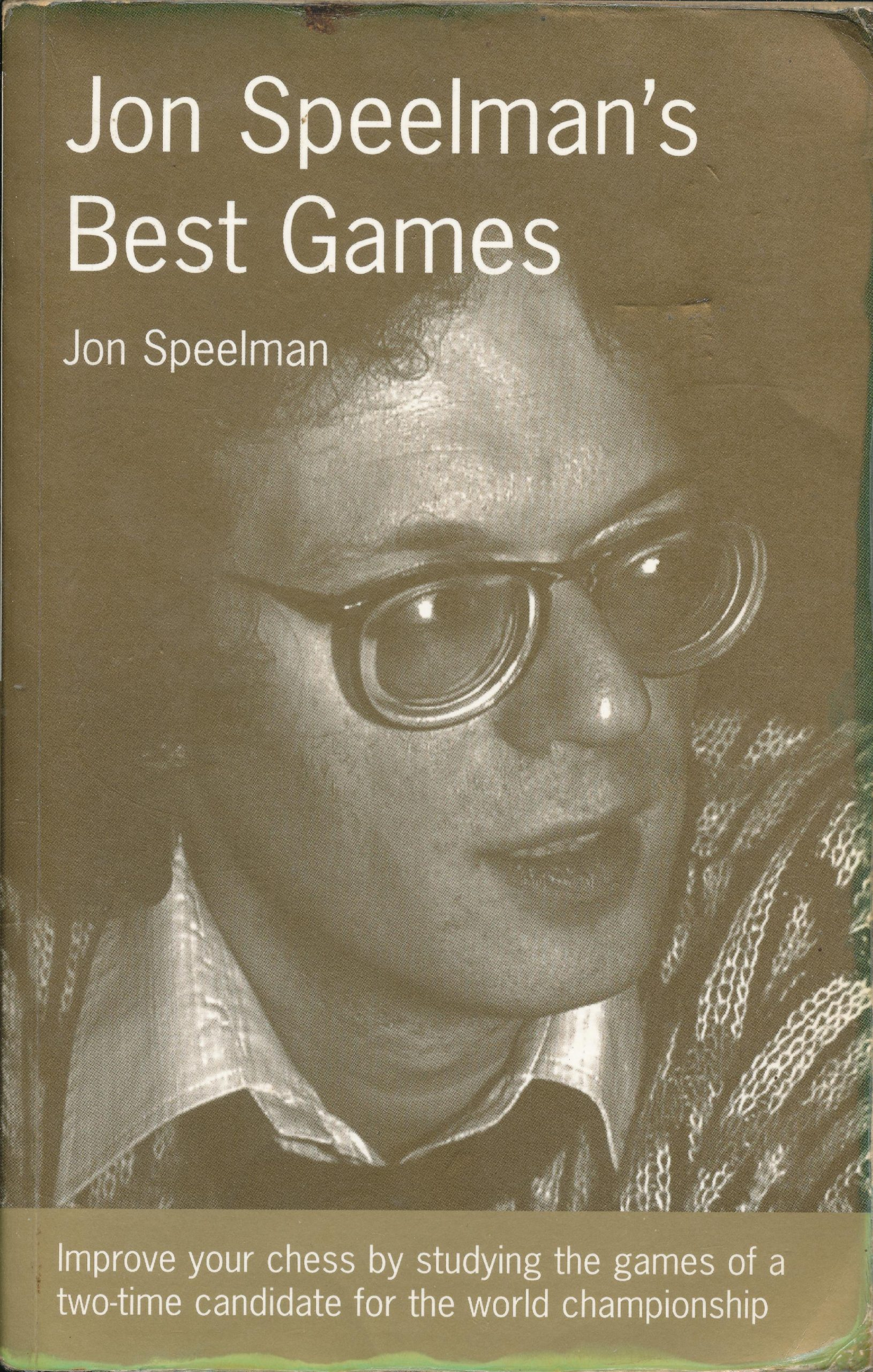 Speelman, Jon (1997). Jon Speelman's Best Games. B.T. Batsford (London, England). 240 pages. ISBN 978-0-7134-6477-1.