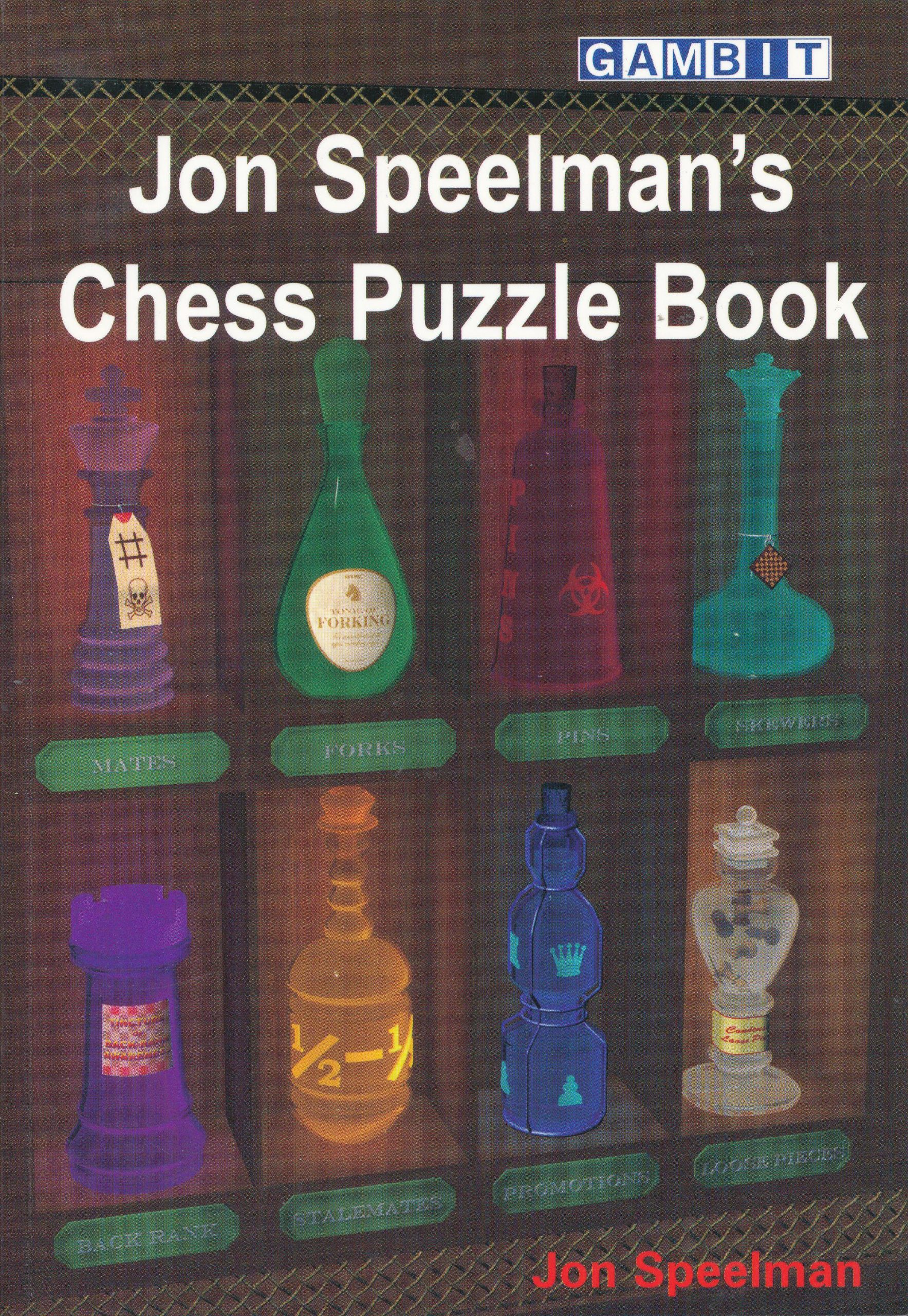 Speelman, Jon (2008). Jon Speelman's Chess Puzzle Book. Gambit Publications Ltd. 143 pages. ISBN 978-1-904600-96-1.