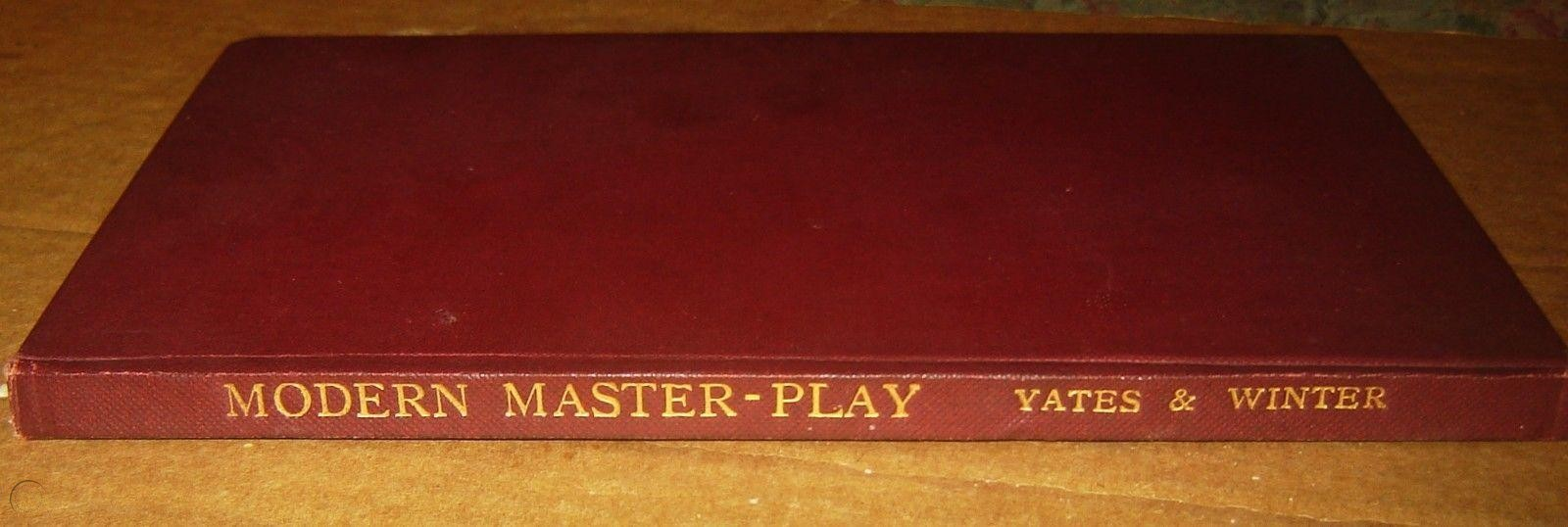 Modern Master Play, FD Yates and W. Winter, 1930