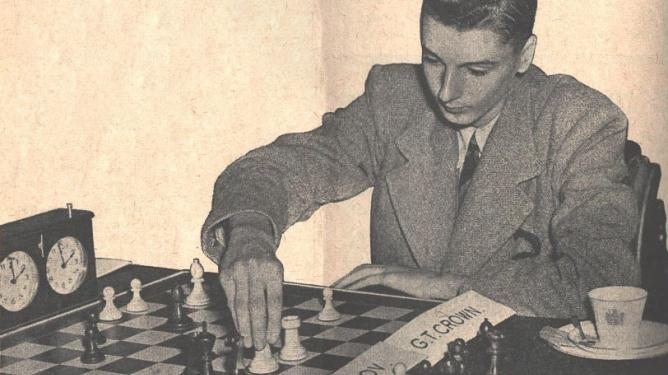 Gordon Thomas Crown, from CHESS, 1948, January, page 86