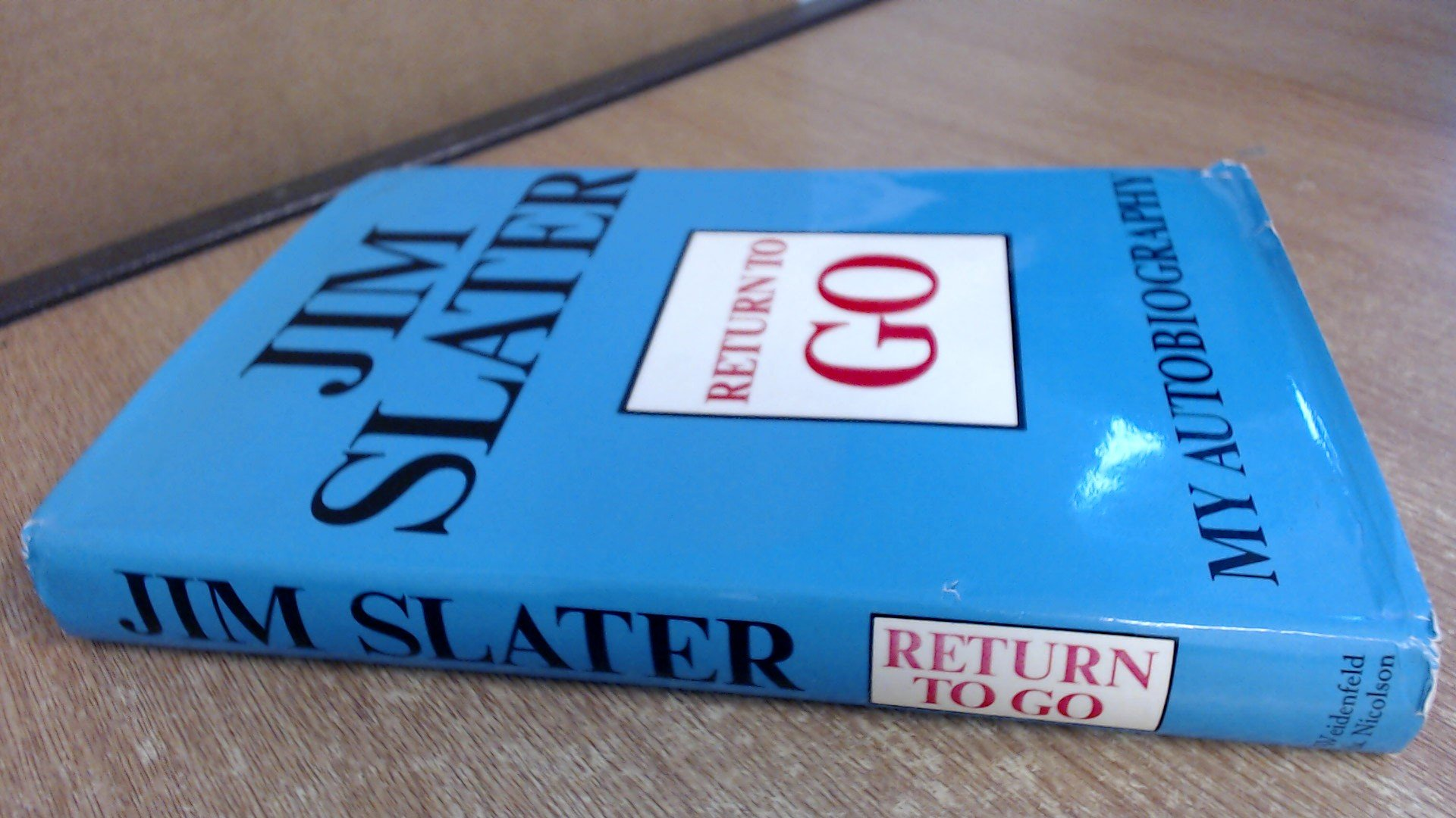 Return to Go, Jim Slater