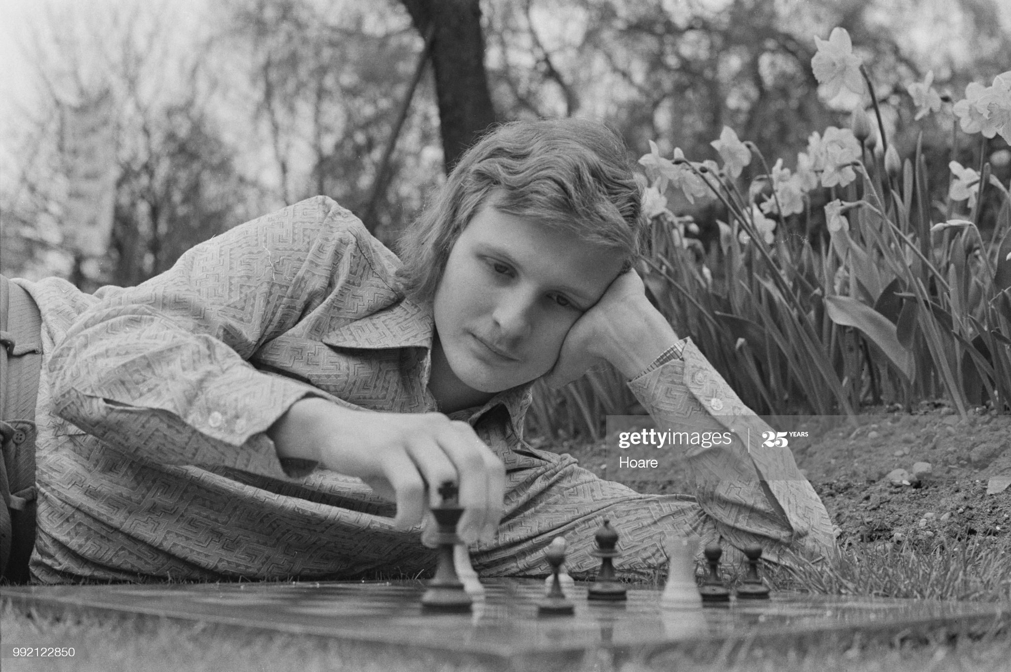 English chess grandmaster Tony Miles (1955 - 2001), UK, 6th May 1973. (Photo by Hoare/Daily Express/Hulton Archive/Getty Images)