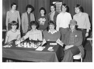 IM John Crofton Hawksworth (standing,far left)