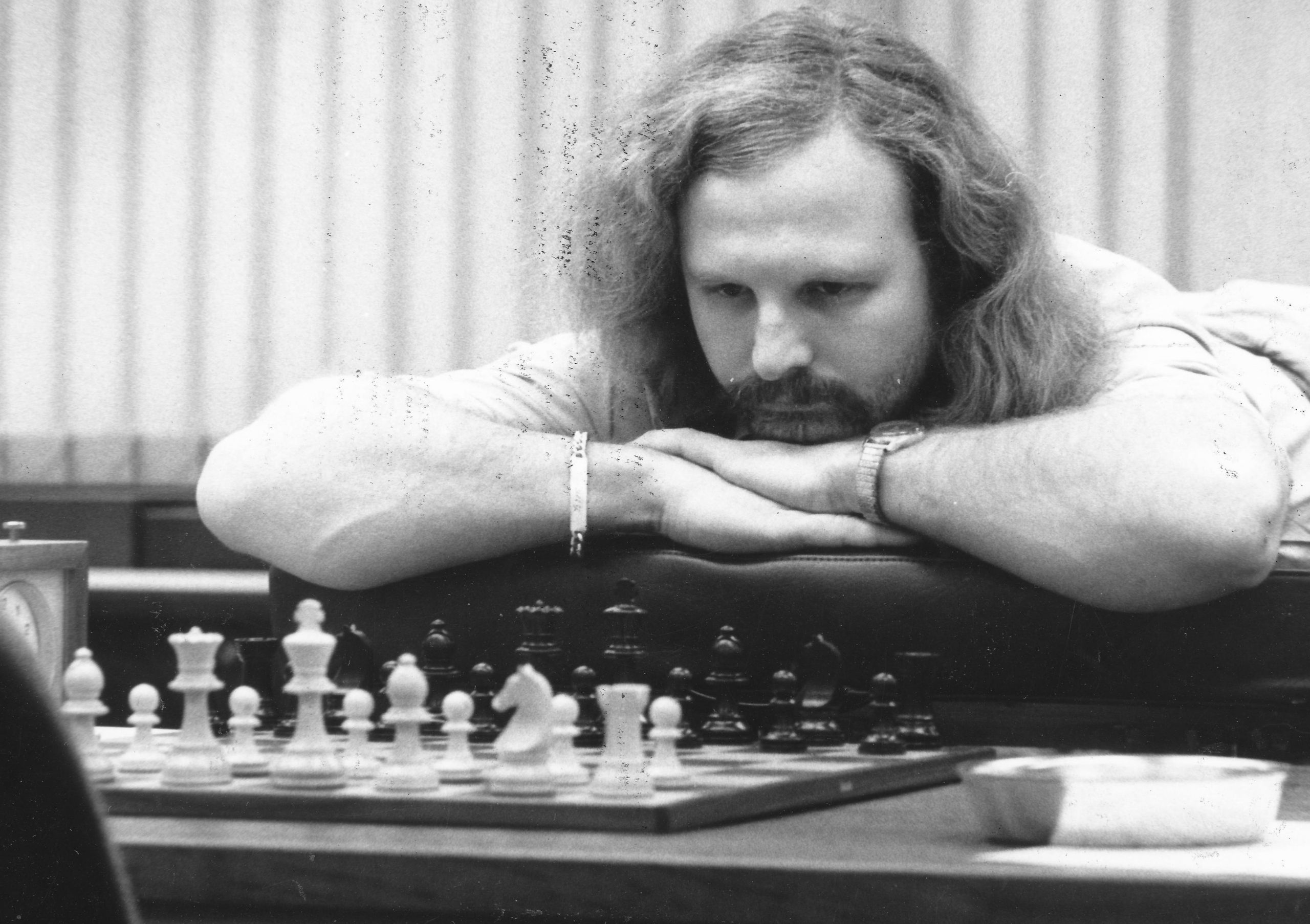 Tony Miles at Tilburg 1985