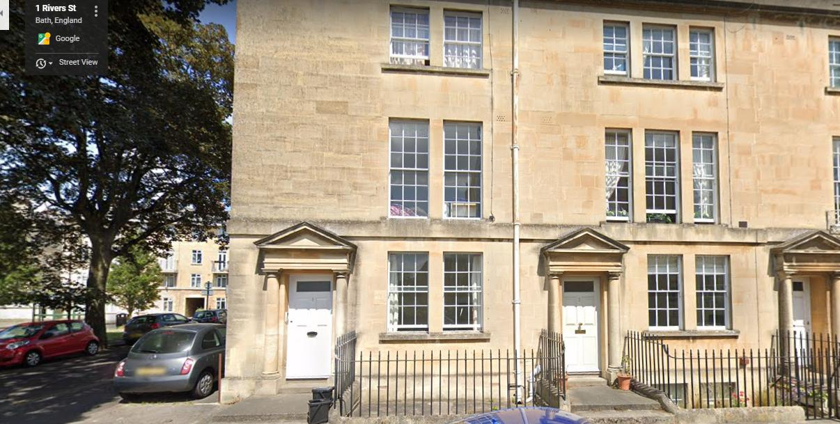 1, Rivers Street, Bath, Somerset, BA1 2QA