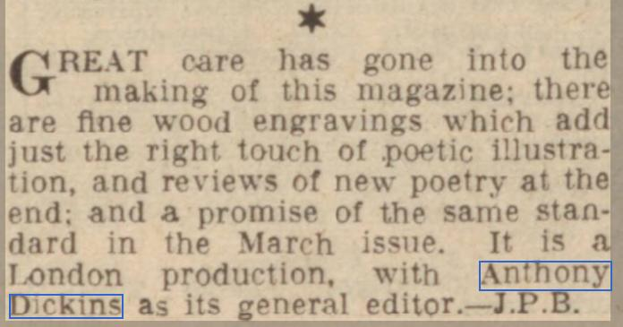 Hull Daily Mail, 4th March 1939