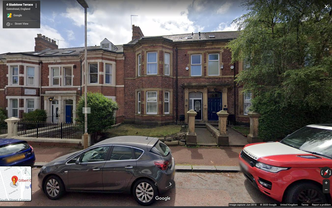 2, Gladstone Terrace, Gateshead, NE8 4DY