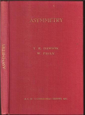Asymmetry, TR Dawson & Wolfgang Pauly, Chess Amateur, 1927