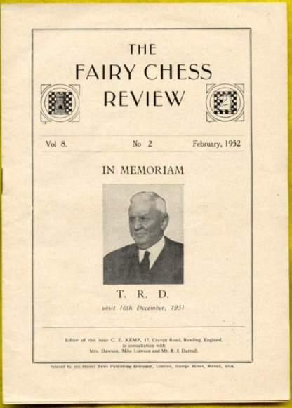 The Fairy Chess Review