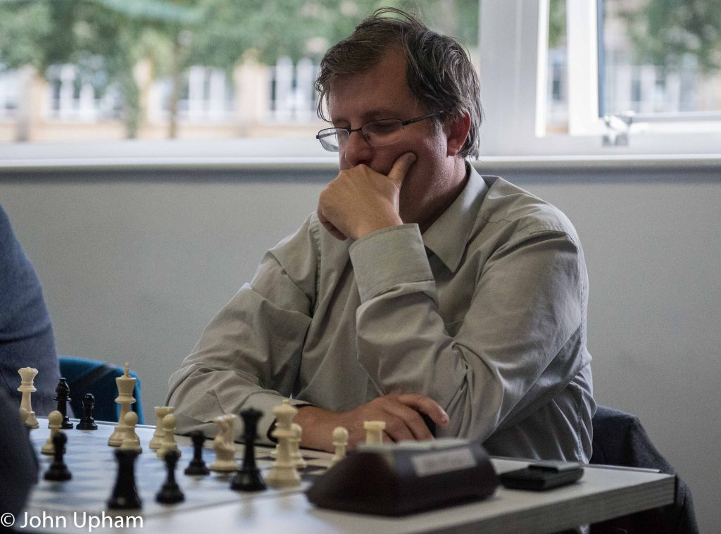 GM Matthew Turner, British Blitz Qualifier, 2019, Bristol