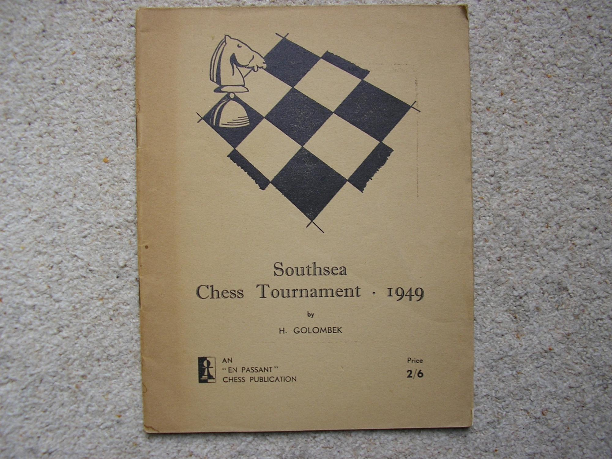 Southsea Chess Tournament, Harry Golombek, En Passant, 1949