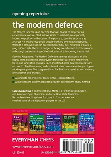 Opening Repertoire : The Modern Defence