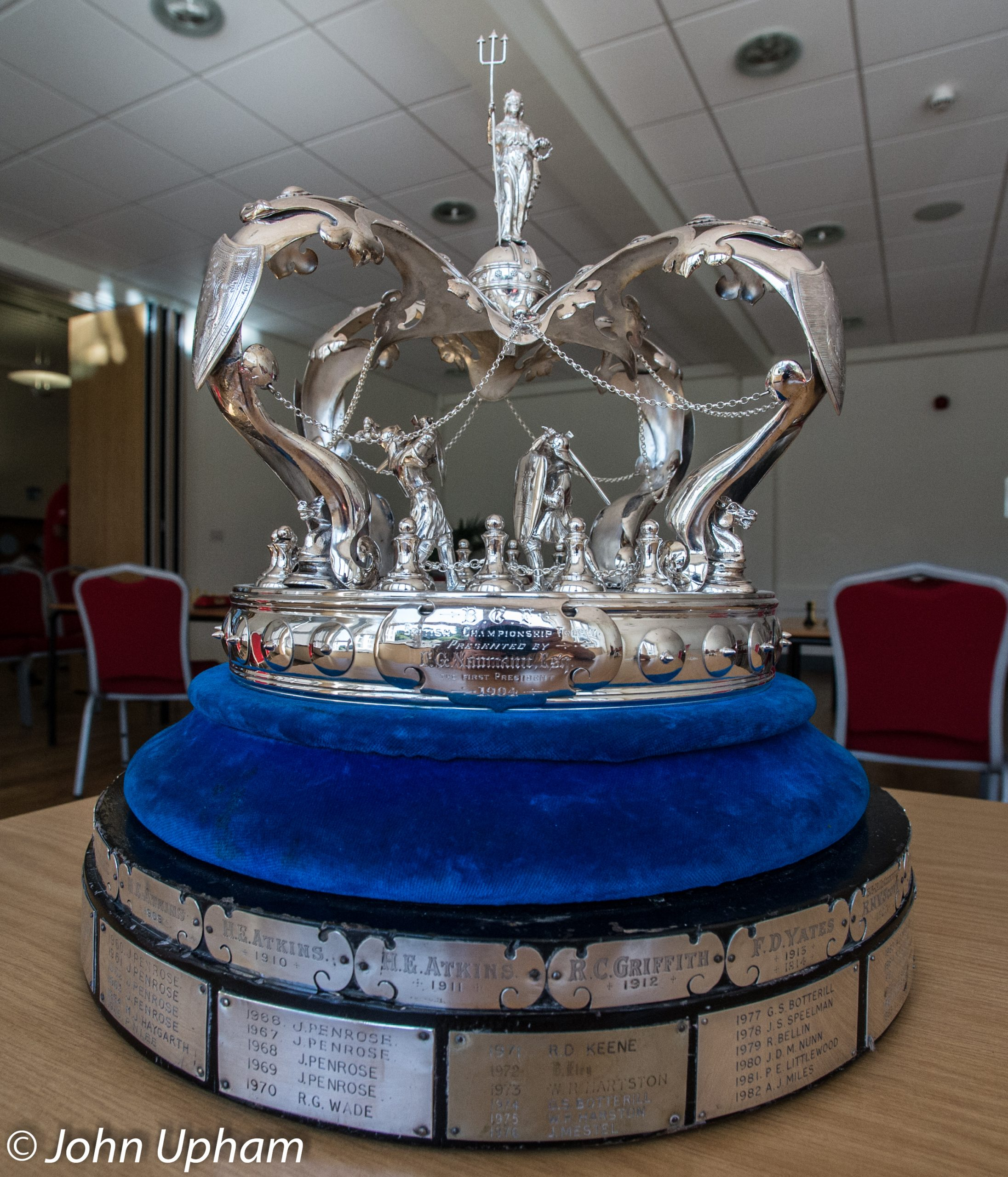 The British Chess Championship Trophy