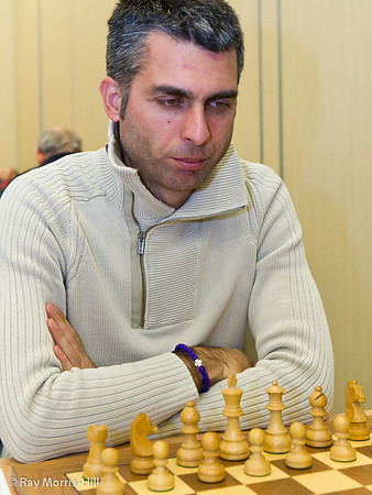 GM Aleksander Delchev by Ray Morris-Hill