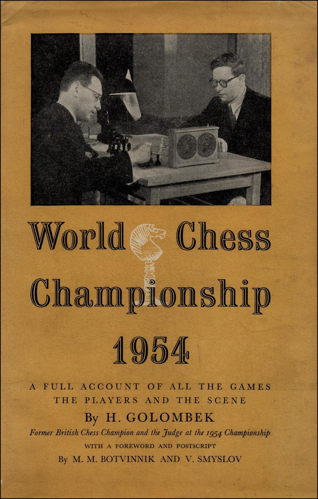 The World Chess Championship 1954