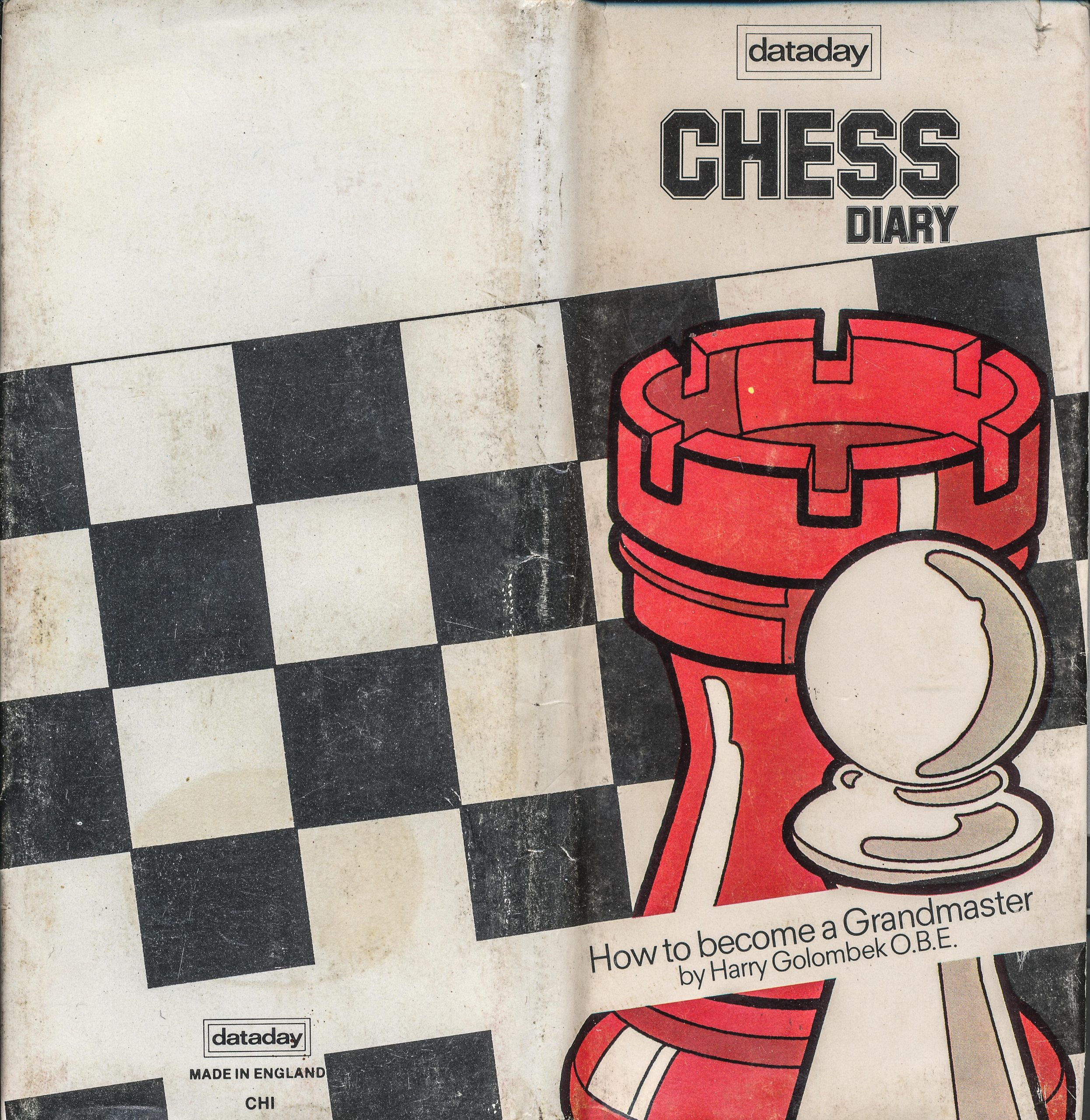 A Dataday Chess Diary for 1979 with a foreword from Harry Golombek