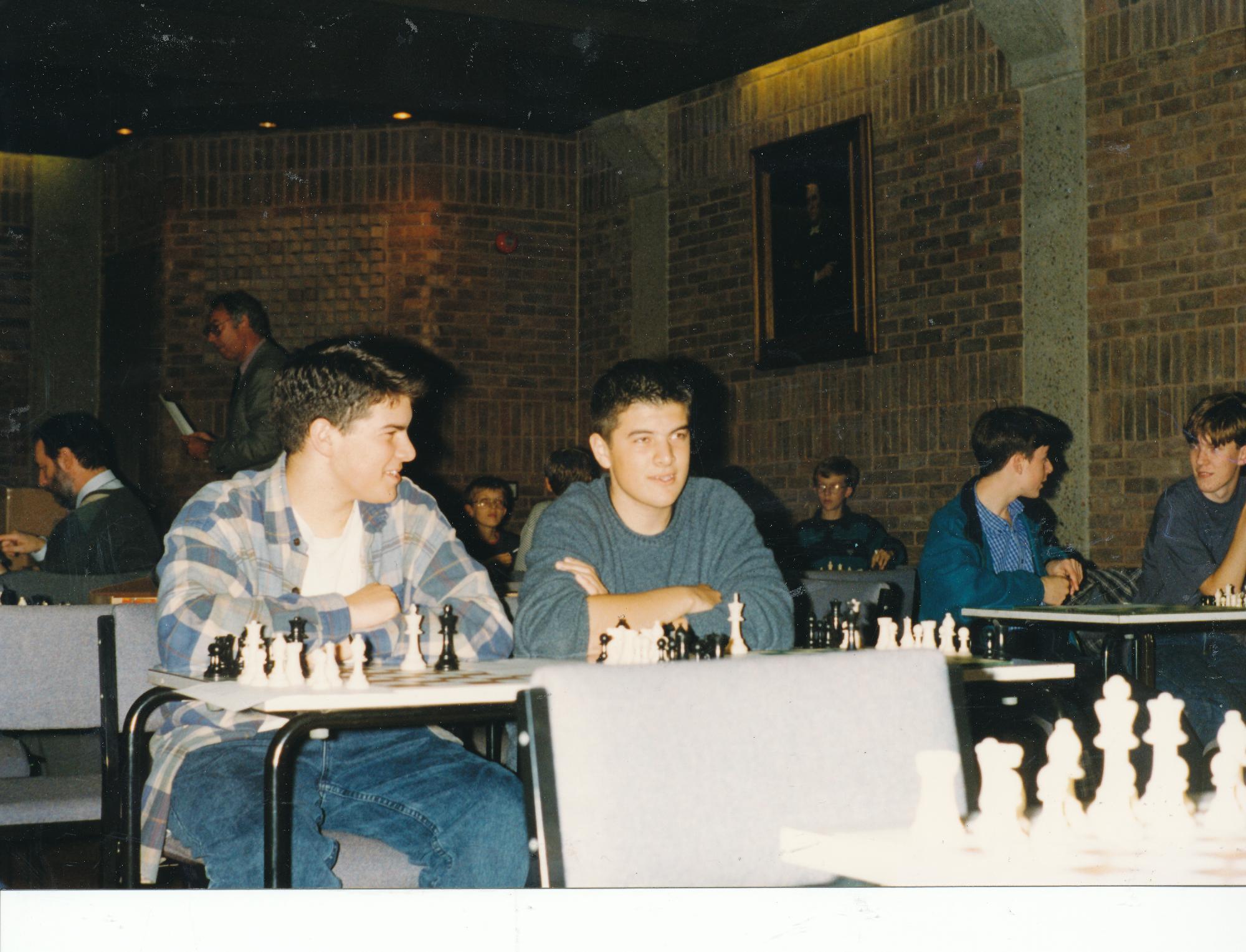 Nick and Richard Pert