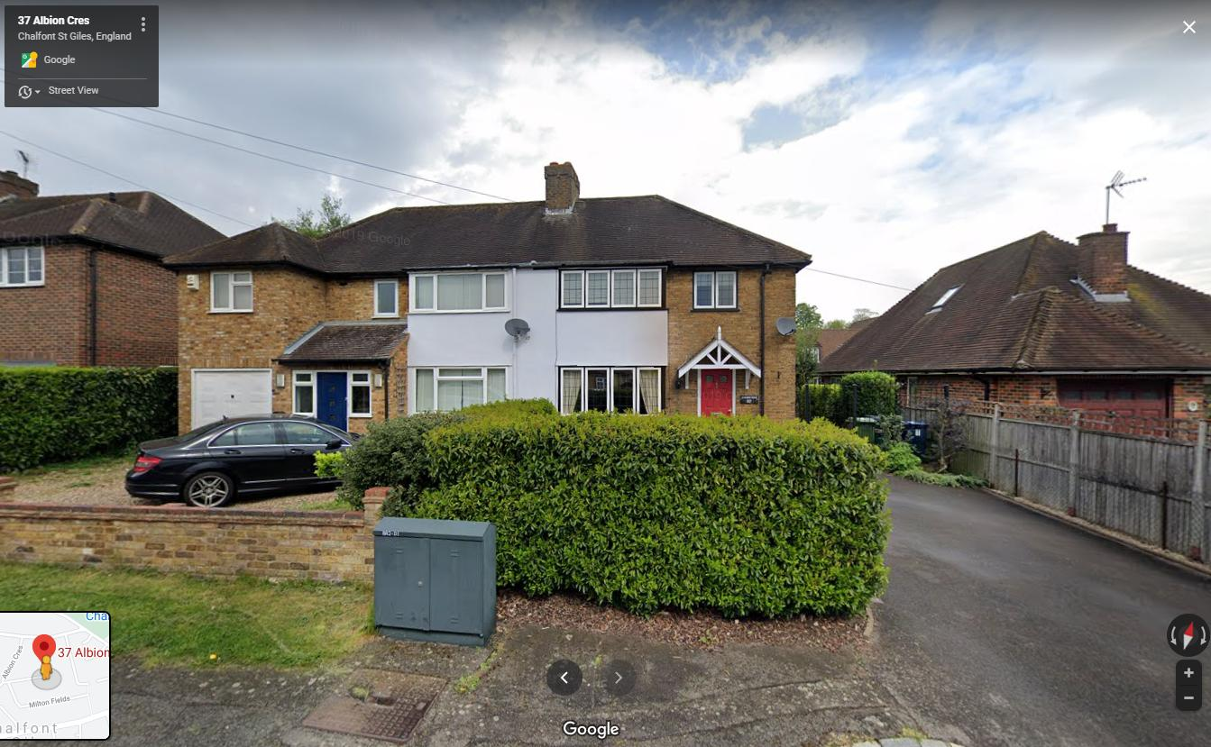 37, Albion Crescent, Chalfont St Giles, Buckinghamshire, HP8 4ET : the home of Harry Golombek OBE