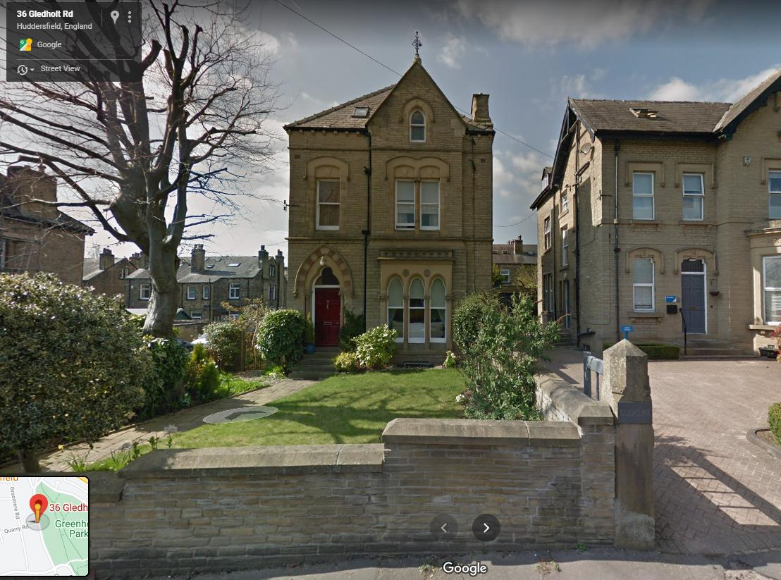 36 Gledholt Road, Huddersfield, Yorkshire, HD1 4HP
