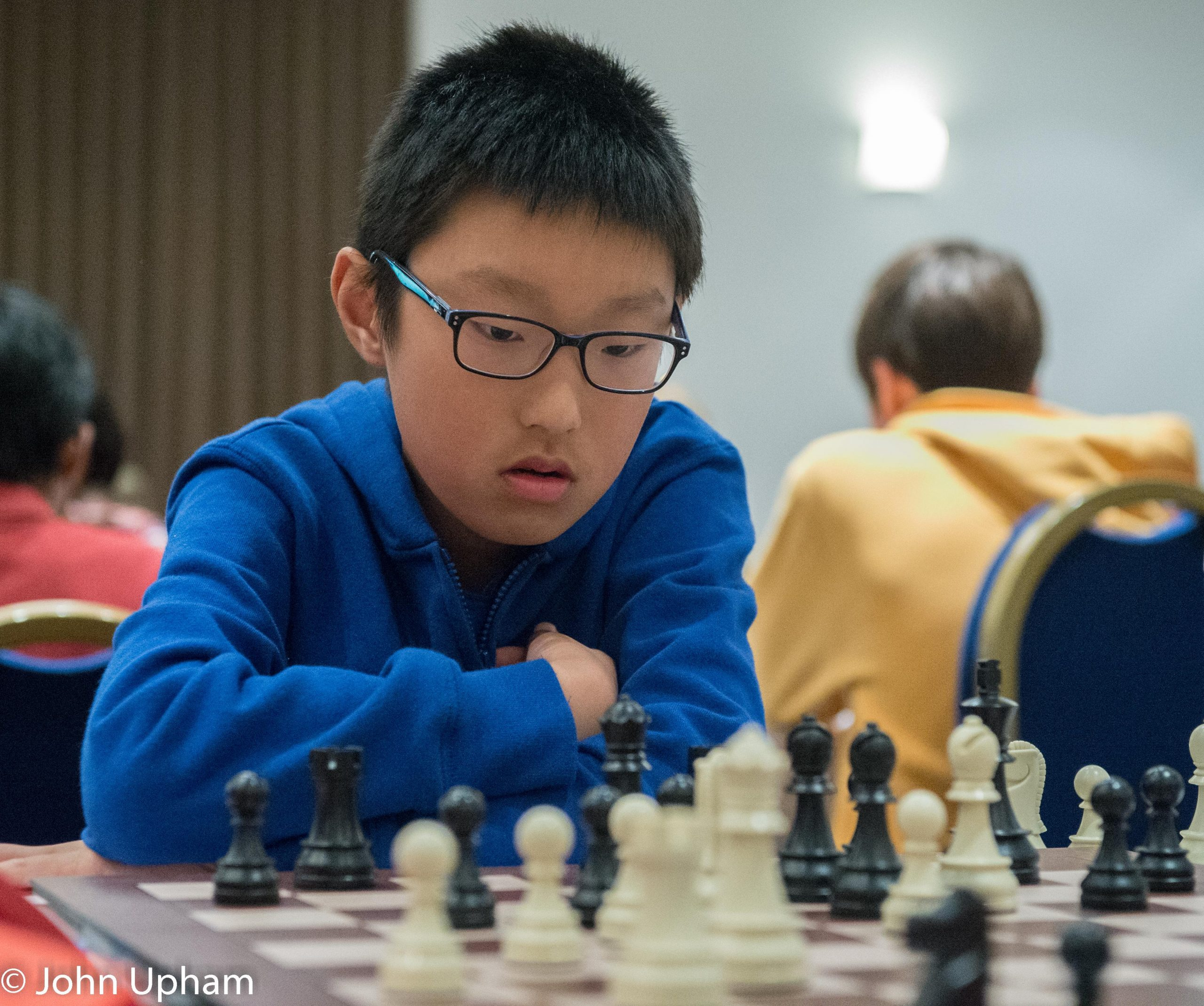 Yichen Han at the 2018 Terafinal