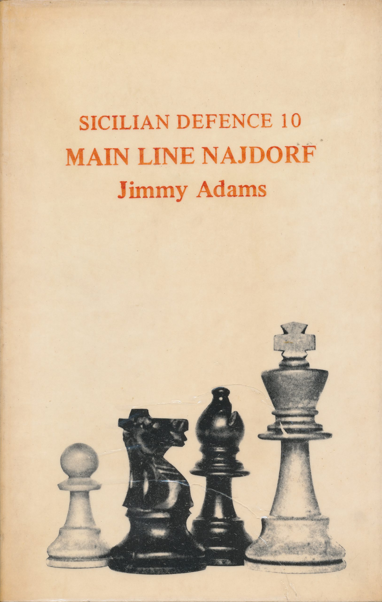 Sicilian Defence 10 : Main Line Najdorf, Jimmy Adams, The Chess Player, 1977